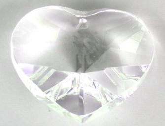 Kristallglas Herz 40mm