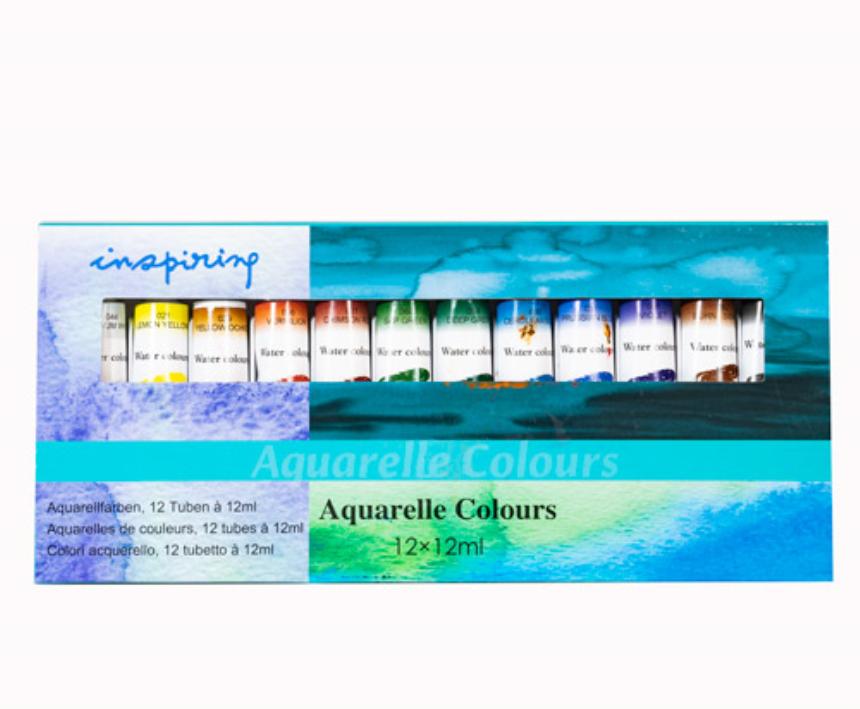 Farben Aquarell 12erSet 12ml