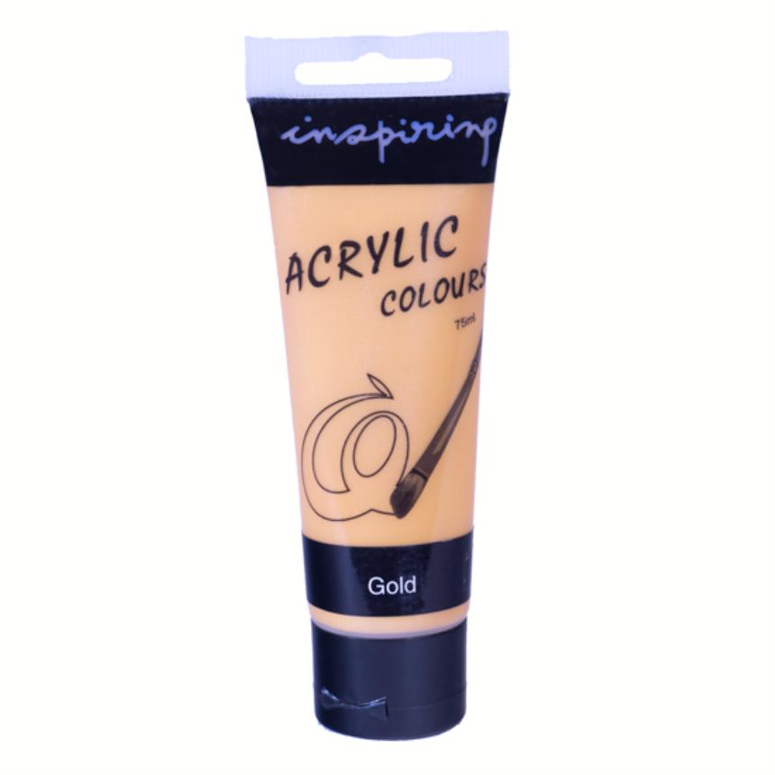 Acrylfarbe 200ml Gold