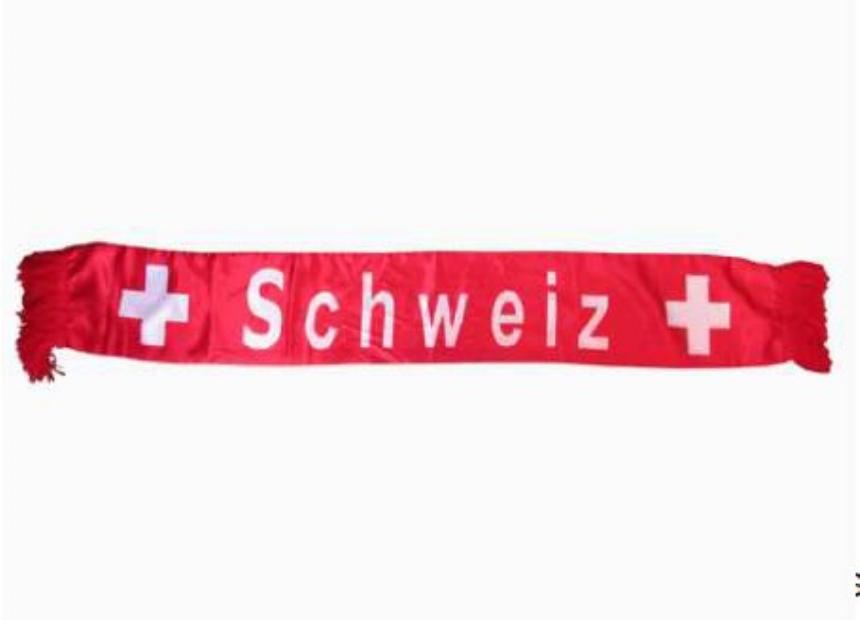 Schweiz-Schal 125cm