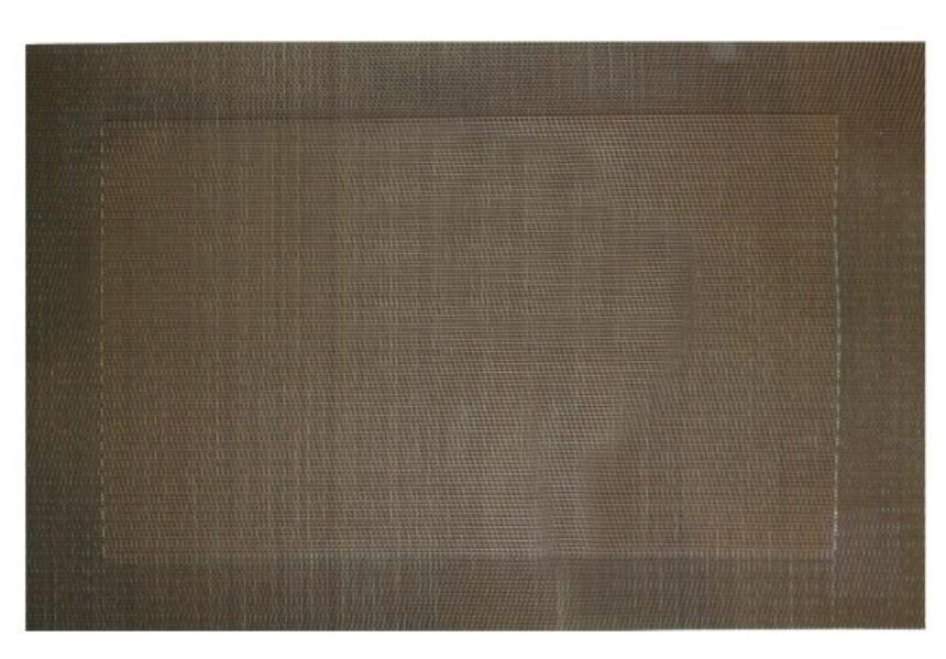 Tischset braun Kunststoff 30x45cm
