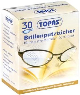 Brillenputztücher 30er-Pack
