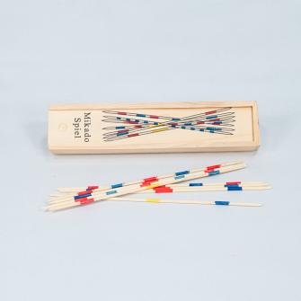 Mikado-Set in Holzbox 20x4x2.5 cm