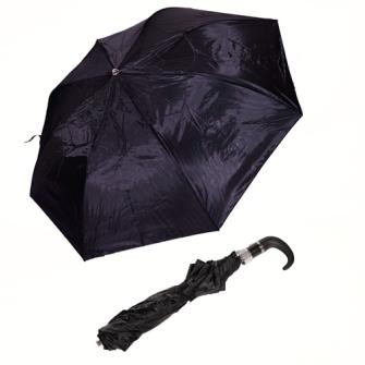 Taschenregenschirm automatisch schwarz Durchmesser 95cm
