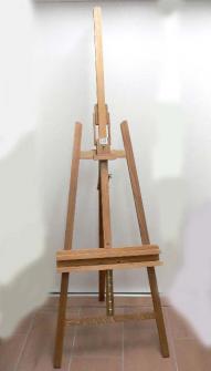 Staffelei aus Holz 65x99x162:225cm Zerlegt geliefert!