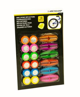 Fahrrad Reflektoren für Speichen 18Stck. auf Blister