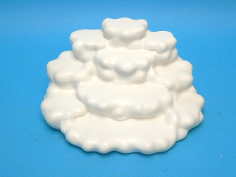 """Engel """"Auf den Wolken"""" DISPLAY 20x20cm für 12 Engel"""