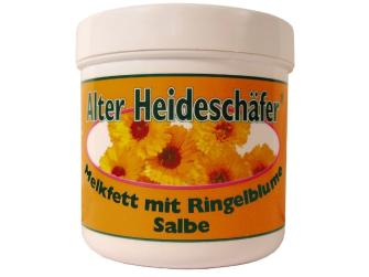 Creme Alter Heideschäfer Melkfett mit Ringelblumen Salbe 250 ml