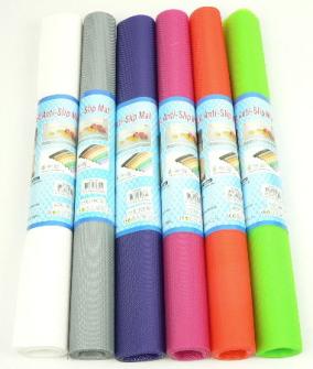 Antirutschmatte gerollt 45x150cm 6 Farben zufällig gemischt 400g/m2