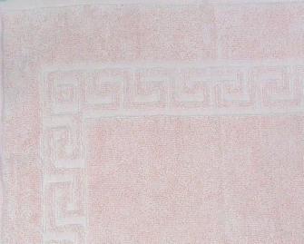 Smooth Frottierwäsche  Badematte 800 gsm 50x80 cm Rosa   K1
