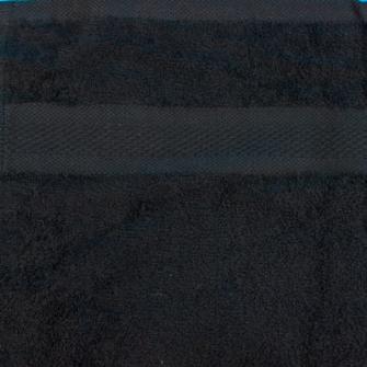 Smooth Frottierwäsche  Badematte 800 gsm 50x80 cm Schwarz    K1