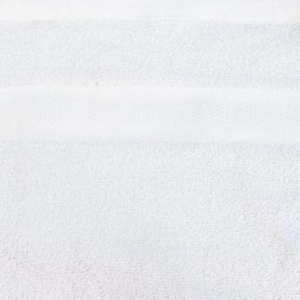 Smooth Frottierwäsche  Badematte 800 gsm 50x80 cm Weiss    K1