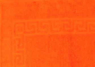 Smooth Frottierwäsche  Badematte 800 gsm 50x80 cm Orange    K1