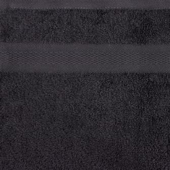 Smooth Frottierwäsche Duschtuch 500 gsm 70x140 cm Anthrazit   K1
