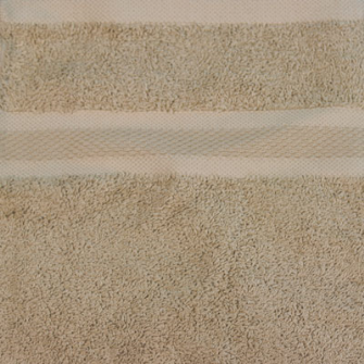 Smooth Frottierwäsche Badetuch 500 gsm 100x150 cm Sand