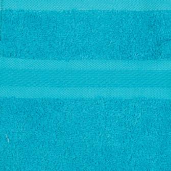 Smooth Frottierwäsche Badetuch 500 gsm 100x150 cm Aquamarine
