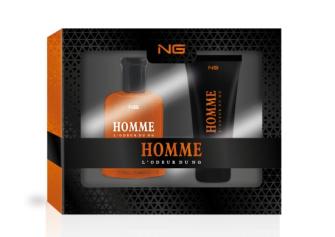 Geschenkset Eau de Toilette 100ml und Shower Gel 100ml NG Homme