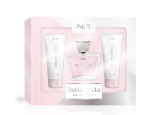 Geschenkset Eau de Parfum 80ml Shower Gel 100ml Bodylotion 100ml NG Bella Vida