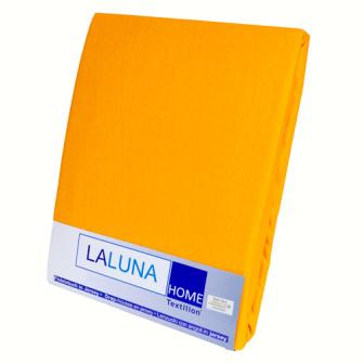 Textilion Fixleintuch-Jersey 150 gsm 160x200 cm Orange