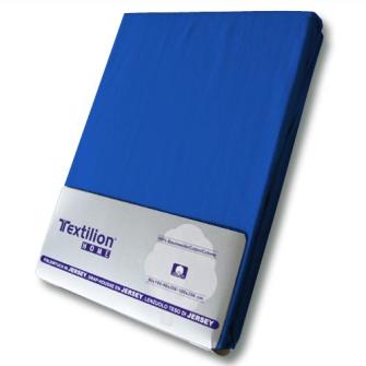 Textilion Fixleintuch-Jersey 150 gsm 160x200 cm Royal