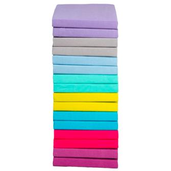 Supertex Fixleintücher 2erSet 90x200cm 8 Farben assortiert