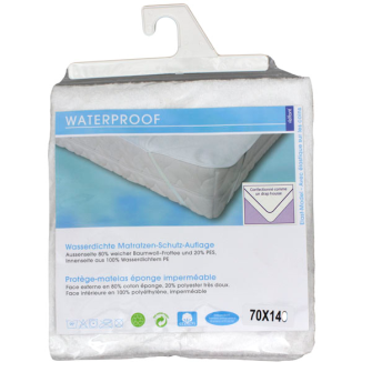 Molton Wasserfest 70x140 cm Fixleintuch