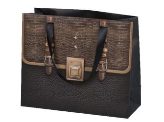 """Geschenktasche Design """"Handtasche"""", 20x20x8cm, 2ass"""