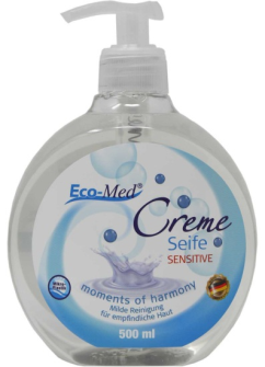Cremeseife Moments of Harmony Sensitive 500ml ohne Mikroplastik