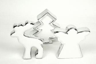 Keramik Weihnachtsbaum weiss silber 12*4*13cm