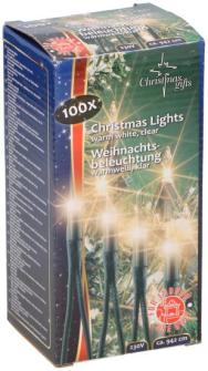 Lichterkette Weihnachten warmweiss 100 Lampen