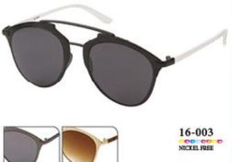 Sonnenbrille Damen 16-003, 3 ass K1