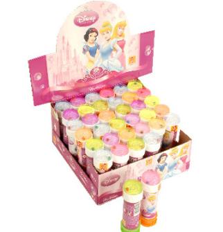 Seifenblasen Disney Princess 60ml im Display