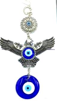 Türkisches Auge Hänger Adler 19cm