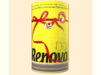 Küchenpapier RENOVA XXL 1 Rolle gelb