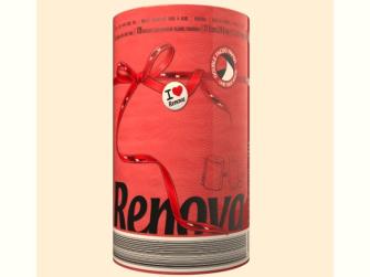 Küchenpapier RENOVA XXL 1 Rolle rot