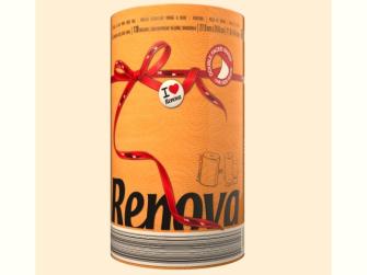 Küchenpapier RENOVA XXL 1 Rolle orange