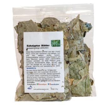 R Räucherware Eukalyptusblätter 20g aus PERU