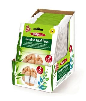 Fuss Bambus Vital Pads 2er im Display