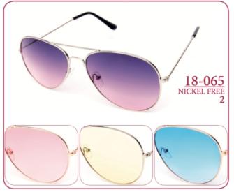 Sonnenbrille Damen 18-065 4ass