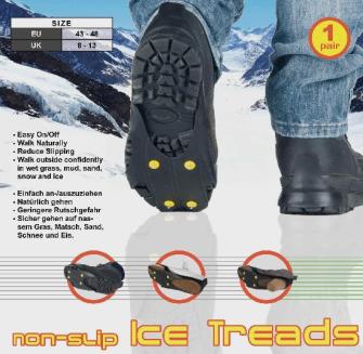 Eiskralle für Schuhe Grössen 43-48