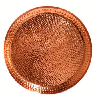 Dekoteller Marokkanisch kupfer Metall 50x4.5cm