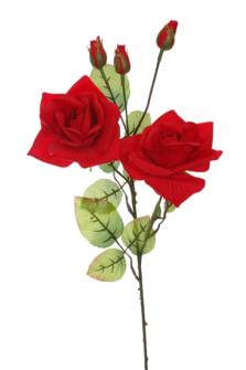 Rosenstiel rot 70cm