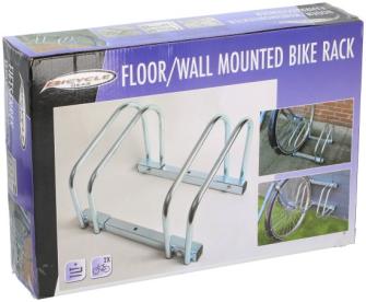 Fahrradständer bodenmontiert 2fach