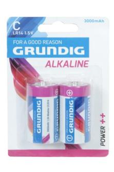 Batterien Alkaline C LR 14 2 Stk Grundig