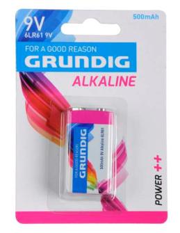 Batterien 6LR61 9V 1 Stck Alkaline Grundig