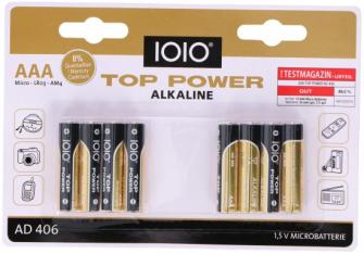 Batterien AAA LR03 8Stk Alkaline