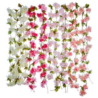 Kirschblütengirlande 220cm 4ass