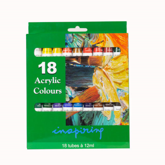 Farben Acryl 18erSet 12ml