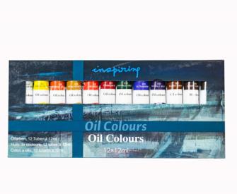 Farben Öl 12erSet 12ml