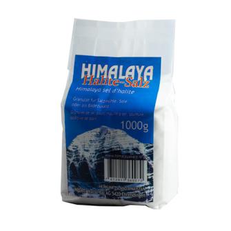 Himalaya-Speisesalz Halite fein im 1 kg PE-Beutel